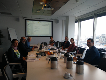 Meeting at Schipol Skyport offices (NL) with RIKILT, HORTA and IRIS discussing the first steps towards the development of the MYTOOLBOX e-platform