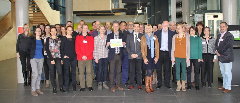 Kick-Off meeting Tulln: Group photo